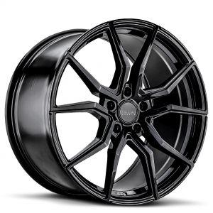 VARRO-WHEELS-VD19X-RIMS-Gloss-Black-5-LUG-Spin Forged
