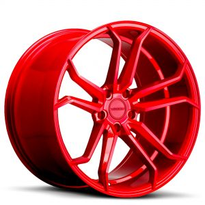 VARRO Wheels VD02 Rims CANDY RED Staggered