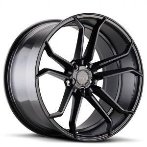 VARRO Wheels VD02 Rims BLACK Staggered
