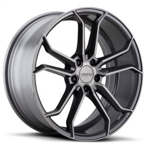 VARRO Wheels VD02 Rims TITANIUM-BRUSHED_Staggered