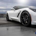 2016 Chevrolet Corvette Staggered Rims Z51 Varro Wheels VD01 Gloss Black