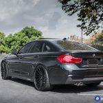 BMW 4 Series 20 inch Rims Varro Black Staggered Wheels VD15