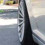Chrysler 300c Silver Rims - Varro 20 inch Staggered Wheels VD15
