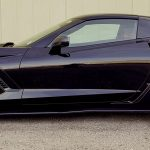 Chevy Corvette Z06 Rims Varro Black Wheels VD01 Staggered