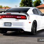Dodge Charger SRT8 20 inch Rims Varro Black Staggered Wheels VD15