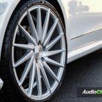 Mercedes Benz E Class Rims - Varro 20 inch Silver Staggered Wheels VD15