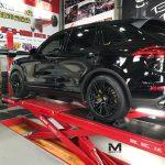 Porsche Cayenne 22 inch Black Rims Varro Wheels VD06X Spin Forged