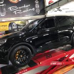 Porsche Cayenne 22 inch Black Rims Varro Wheels VD06X Flow Form