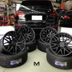Porsche Cayenne 22 inch Black Rims Varro Wheels VD06X Rotary Forged