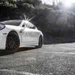 Porsche Panamera 22 inch Staggered Black Rims Varro Wheels VD15