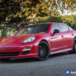 Porsche Panamera Black Rims Varro Staggered 22 inch Wheels VD15