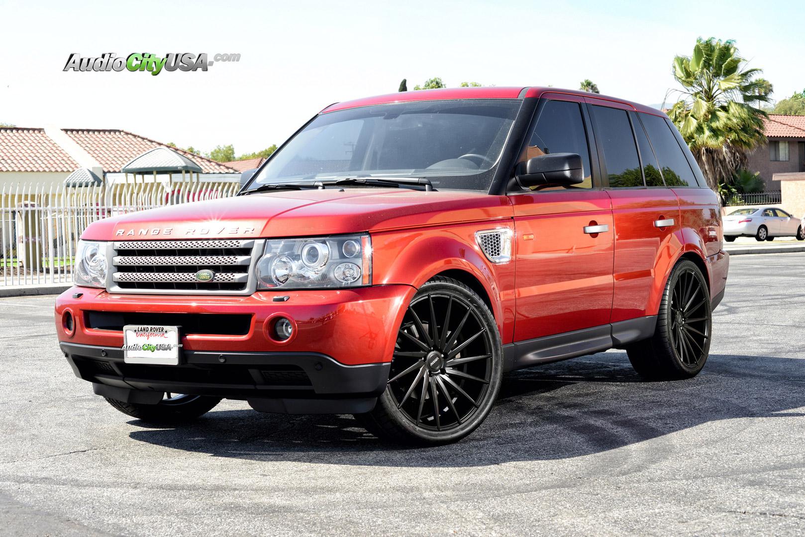 Range Rover Sport Black Rims - Varro VD15 Wheels
