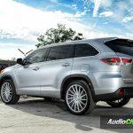 Toyota Highlander Rims Varro Silver Wheels