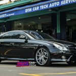 Mercedes CLS Concave Rims - Varro Staggered Silver VD01 Wheels