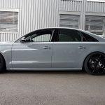 Audi S6 Black Rims Varro VD01 Concave Wheels