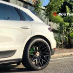 Porsche Macan Black Rims Varro VD06X Rotary Forged Concave Wheels