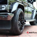 Mercedes Benz G Wagon Black Rims Varro VD06X Spin Forged Wheels