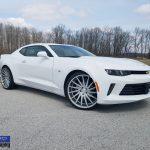 Chevrolet Camaro Rims Varro VD15 Silver Rims Staggered