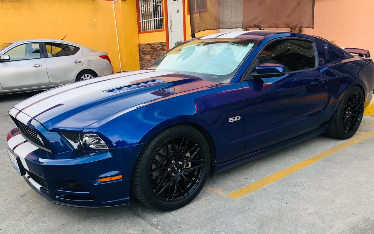 Ford Mustang Black Rims Varro Staggered VD06X Flow Form Wheels